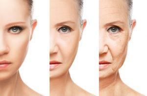 Caída de la piel con la edad