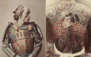 Formas jerárquicas con mesoterapia en tatuajes asiáticos