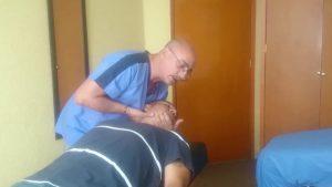 Ajuste cervical con alpha osteopatia