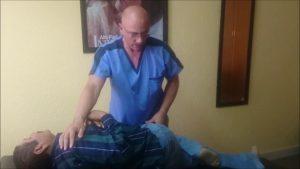Ajuste de cadera con Osteopatia